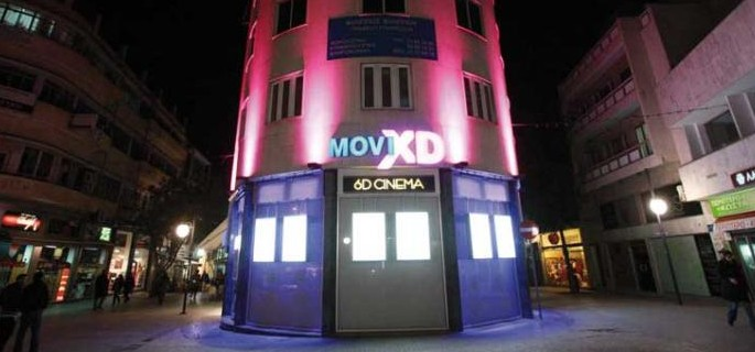 MoviXD 6D Cinema Larnaca