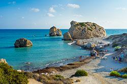 Aphordite Rock Paphos Cyprus